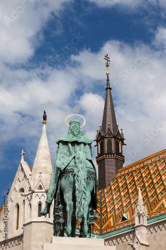 Fotobehang Boedapest King St. Stephen and Matthias Church in Budapest