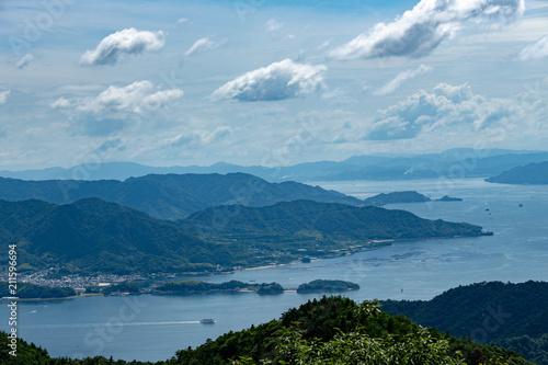 瀬戸内海の島々 広島湾