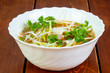 Cold Vietnam chicken soup