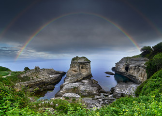 Kerpe Rocks. Kocaeli - Turkey © ismail