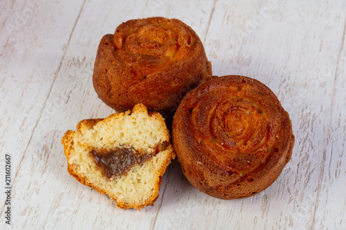 Delicious baked muffins