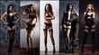 Leinwanddruck Bild - Sexy women in beautiful lingerie. Erotic underwear collage.