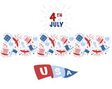 USA independence day 4th of July - 211622890