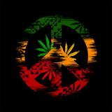 vector cannabis leafs