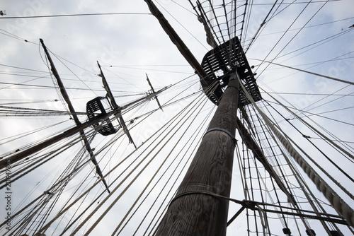 Fotobehang Schip Pirates Ship
