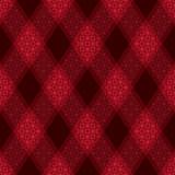 Decorative diagonal tartan inspired vector seamless pattern background 4 - 211666624