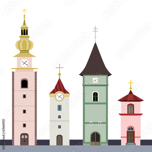 Chapels - collection of illustrations