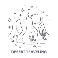 Nightly desert template