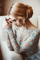 pensive beautiful bride © Andrey Kiselev