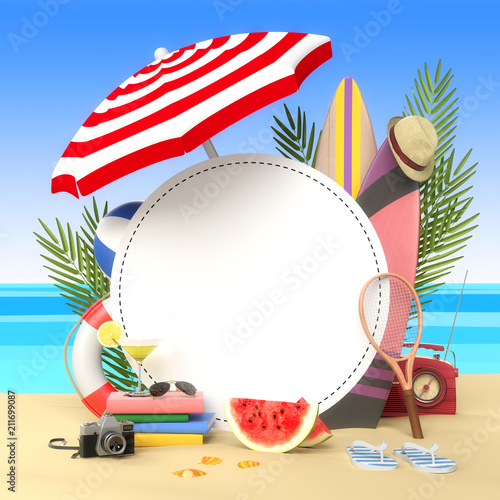 Finally we got the summer, I leave for the beach holidays  - 211699087