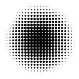 Circle in Halftone, Halftone Dot Pattern, Vector Illustration. - 211701220