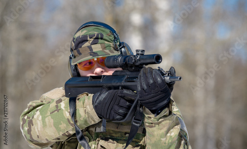 gun, hunter, rifle, ambush, camouflage, weapon, soldier, sniper, aiming, aim, sight, game, man, war, military, sport, army, background, battle, warrior, green, shooter, nature, hunting, adult, take, a