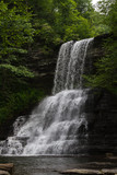 Cascades Falls Virginia's Mountain Playground Waterfall in Pembroke, Virginia - Giles County Jefferson National Forest