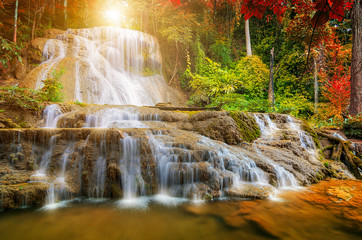 Beautiful waterfall © nirutft