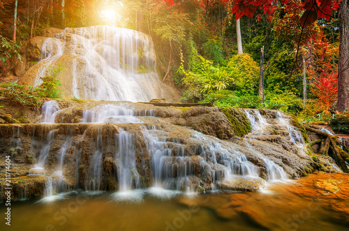 Beautiful waterfall - 211714604