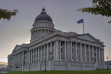 Salt Lake City by the Utah State Capital Building - 211716265