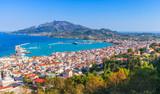 Coastal landscape of Zakynthos port, Greece - 211728822