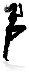 Street Dance Dancer Silhouette © Christos Georghiou