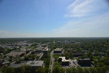panorama on the city of Lincoln, Minnesota, USA © CarloEmanuele
