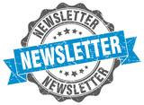 newsletter stamp. sign. seal - 211758614