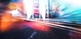 Blurry new york street - 211779441