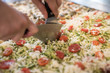 generic photos of Italian pizza preparation - 211798243