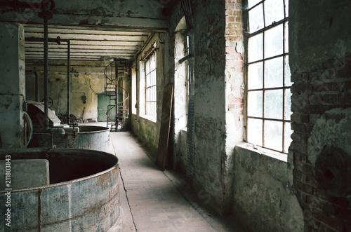 Fotobehang Oude verlaten gebouwen Alte Fabrik