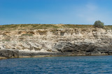 The attraction of the Crimea: Tarkhankut Cape with beautiful rock formations - 211804658