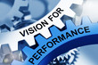 VISION FOR PERFORMANCE on Metal Cog Gears. - 211823483