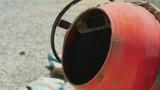 Preparation of mortar in a small concrete mixer - 211828477