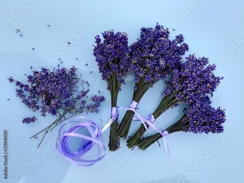 Lavendelsträußchen für den guten Schlaf - 211840081