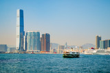 Star ferry and harbor - 211863095