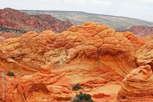 Aluminium Oranje eclat Brain Rock, Arizona
