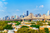 Queensboro Bridge across the East River between the Upper East Side Manhattan and Queens district in  New York. - 211905896