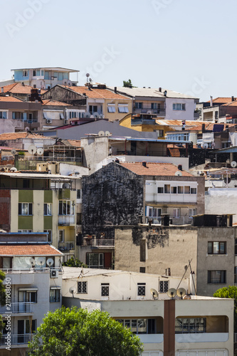 Foto Murales Buildings in Izmir (Turkey)