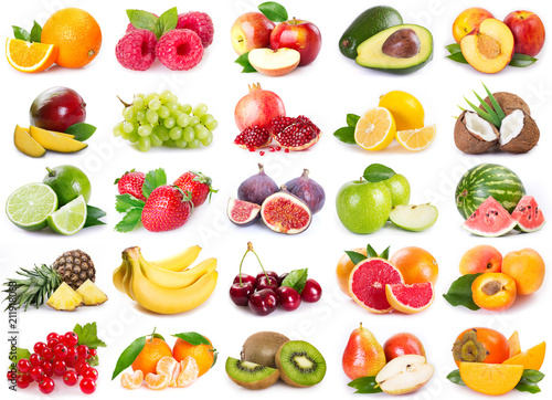 Collection of fresh fruits - 211918083