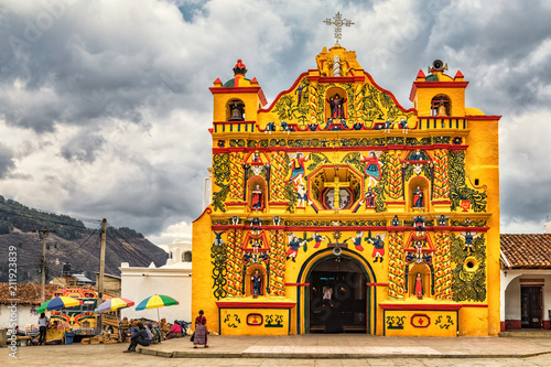 San Andrés Xecul, Catholic Church, Guatemala - 211923839