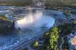 Aerial of the Horseshoe Falls at Niagara Falls