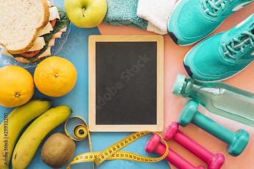 Fototapeta Healthy life and sport