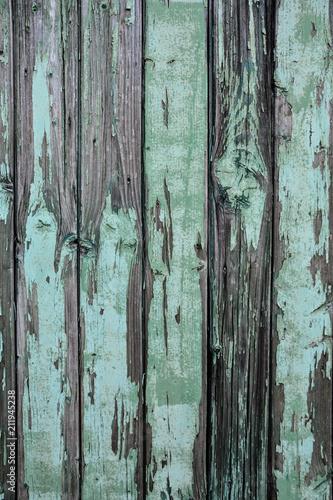 Holz Tisch Balken Vintage türkis - 211945238