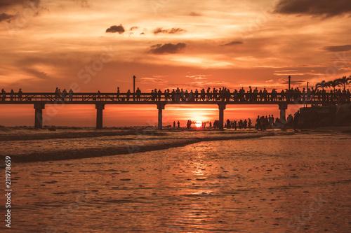 Foto Murales Fort Myers Beach Pier