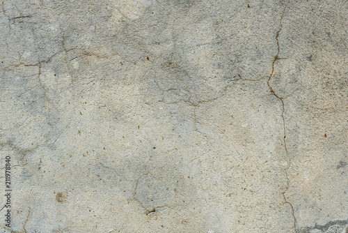 Foto Murales Wall fragment with scratches and cracks