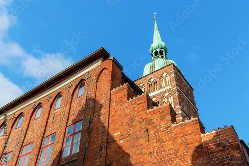 St Nicolas Church in Stralsund, Germany - 211989667