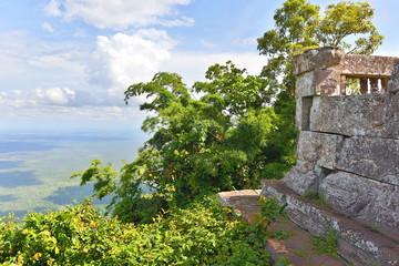 Mountain View of Preah Vihear Temple, Cambodia