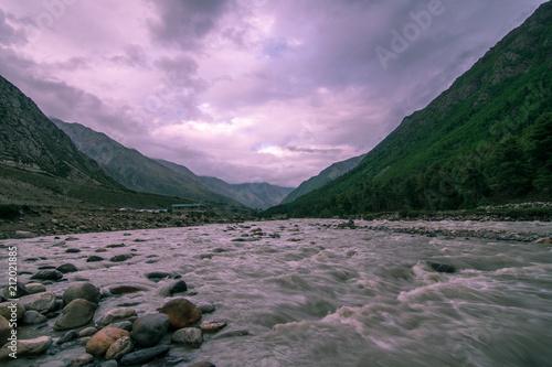 Aluminium Purper Chitkul Village, Sangla Valley in Himachal Pradesh