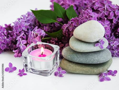 produkty spa i kwiaty bzu