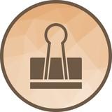 Binder Clip Icon - 212036815