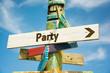 Schild 282 - Party