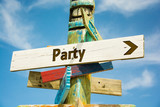 Schild 282 - Party - 212039058
