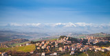 Panoramic landscape, Italian countryside - 212041032